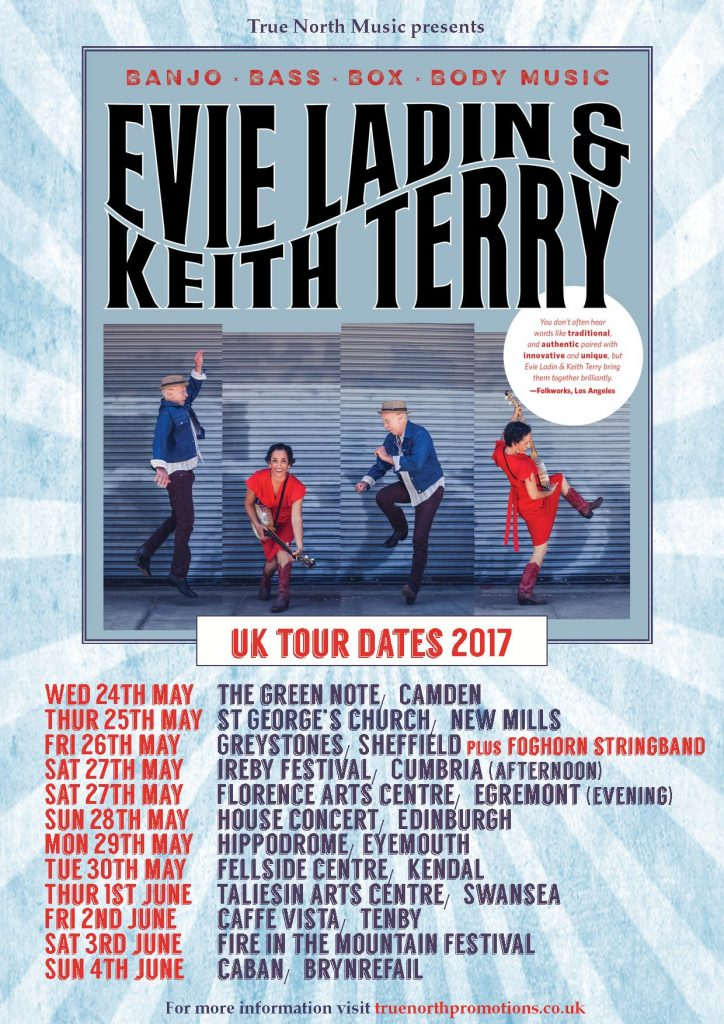 Evie & Keith A4 UK tour dates poster v4